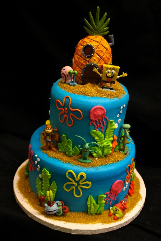 Spong Bob S Under The Sea Paradise From Cinotti S Bakery
