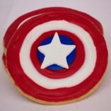 Avengers Cookie Assortment, Captain America, Black Widow, Falcon, Hawkeye, Hulk, Iron Man, Thor, Loeke, Ultron, Cinottis Bakery, Fondant Icing, Stark,