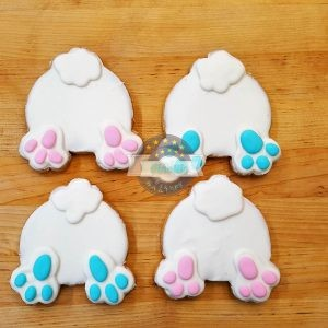 Bunny Butts, Easter Cookies, Cinotti's Bakery, Jacksonville Beach