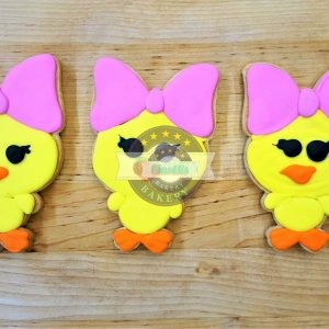 Chick with Bow, Easter Cookie, Cinotti's Bakery, Jacksonville Beach