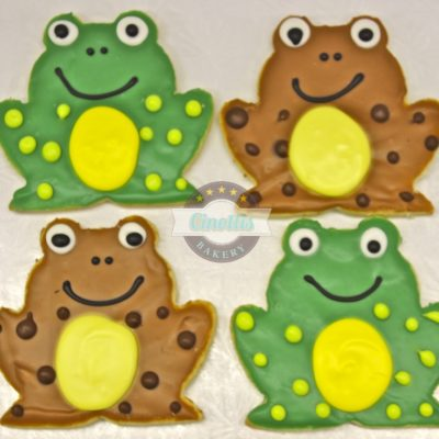 Frog Cookies, Lilly pads, Princess and Frog, Tiana, Cinottis Bakery, Jacksonville Beach, Fondant Icing, Pary, Birthday, Summer, Mud, Bog, Pancake Forest Toad, Crunchy the Frog, MCF