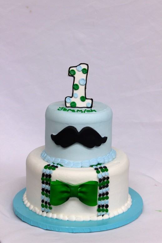 Mustache of a Man celebration cake from Cinottis Bakery