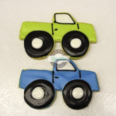 Monster Truck, Truck, Boy, Monster jam, muddin, red neck, hunting, toys, birthday, party, transportaion, super swampers, friday nights, fondant Icing, Cinottis Bakery blue, red, green orange