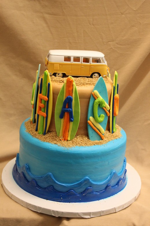 Beach Woody Bus