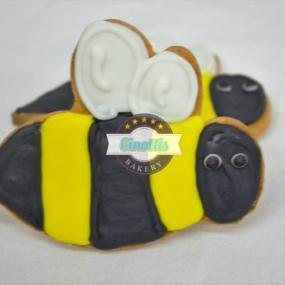 Snail Cookie, Spring, lady but, bumble bee, caterpillar, hungry, dragonfly, leaves, flowers, tree, butterfly, fondant Cinottis7