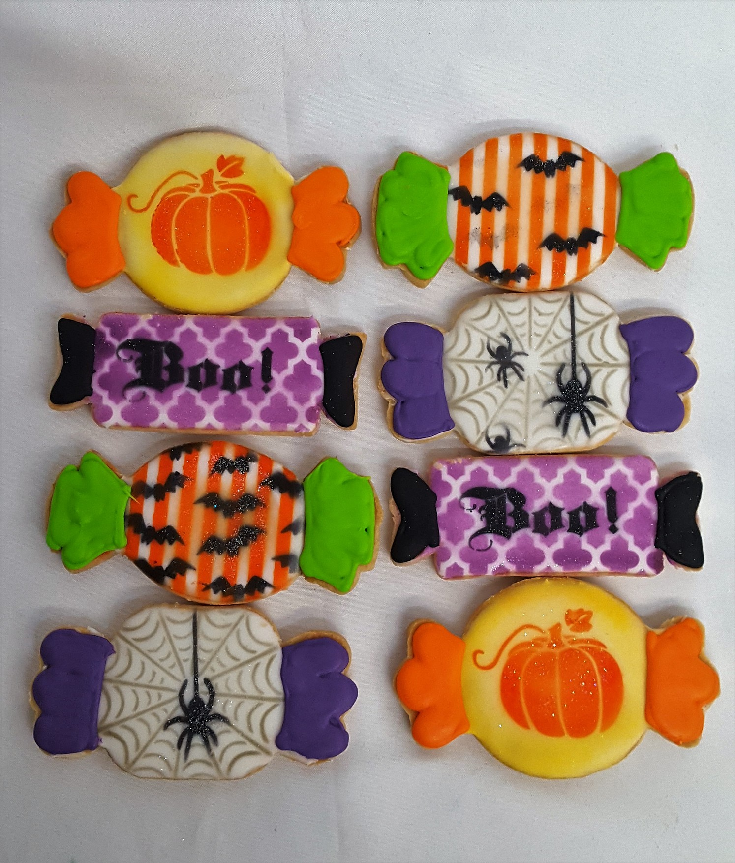 Halloween Candy Iced Cutout Cookies from Cinotti's Bakery