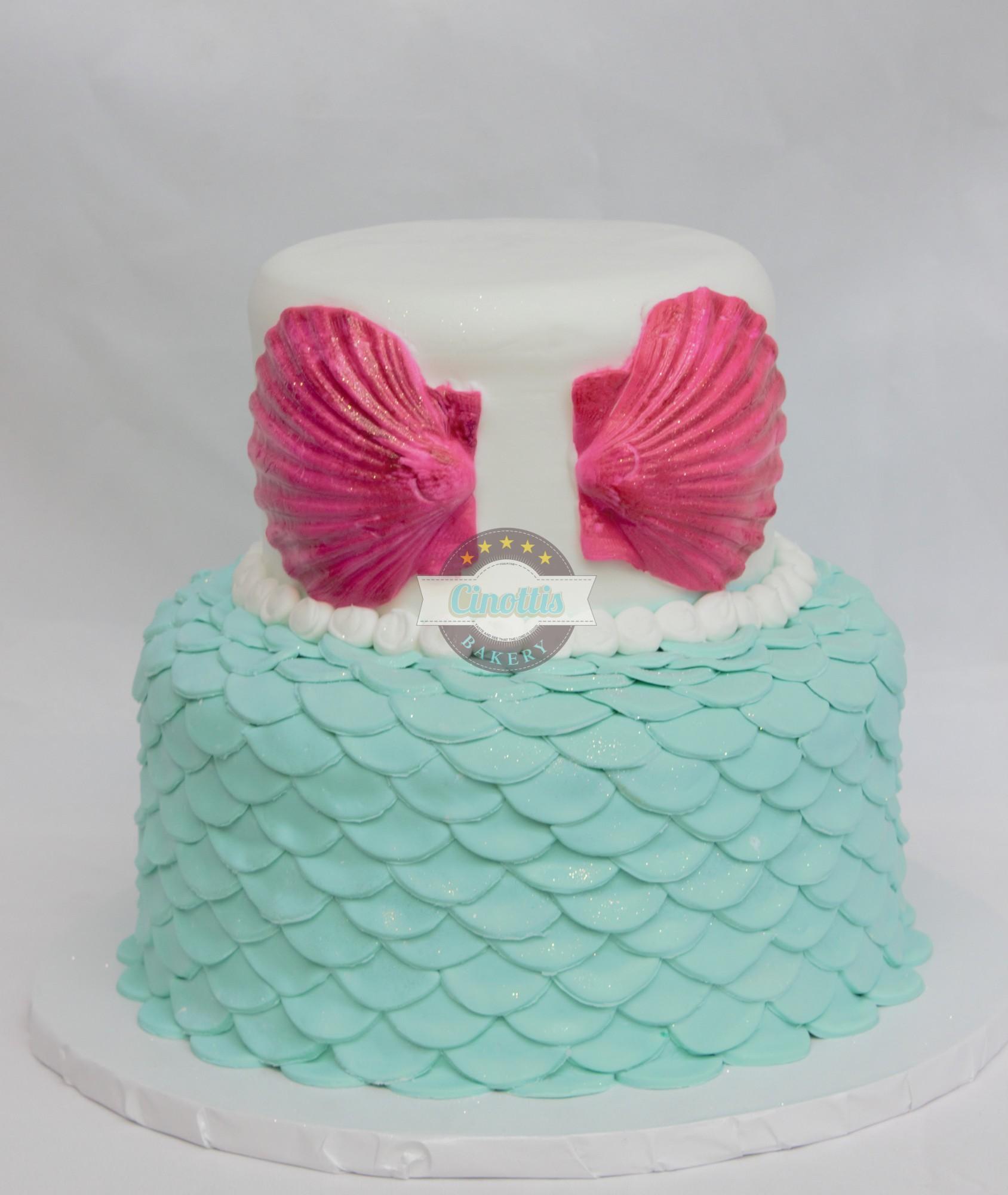 Mermaid Bikini Birthday Cake From Cinottis Bakery