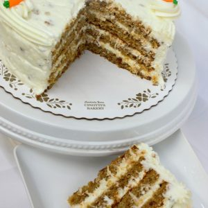 Carrot Cake, Pecans, Coconut, Cream, Cheese, Icing, Southern, Cake, Party, Birthday, Dessert, Cinottis Bakery
