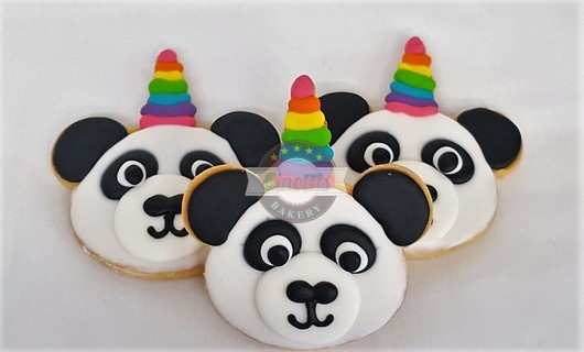 Panda Unicorn, Pandacorn, Cookie, Birthday, Rainbow, Zoo, Magic, Place, Party, Fun, Cinottis