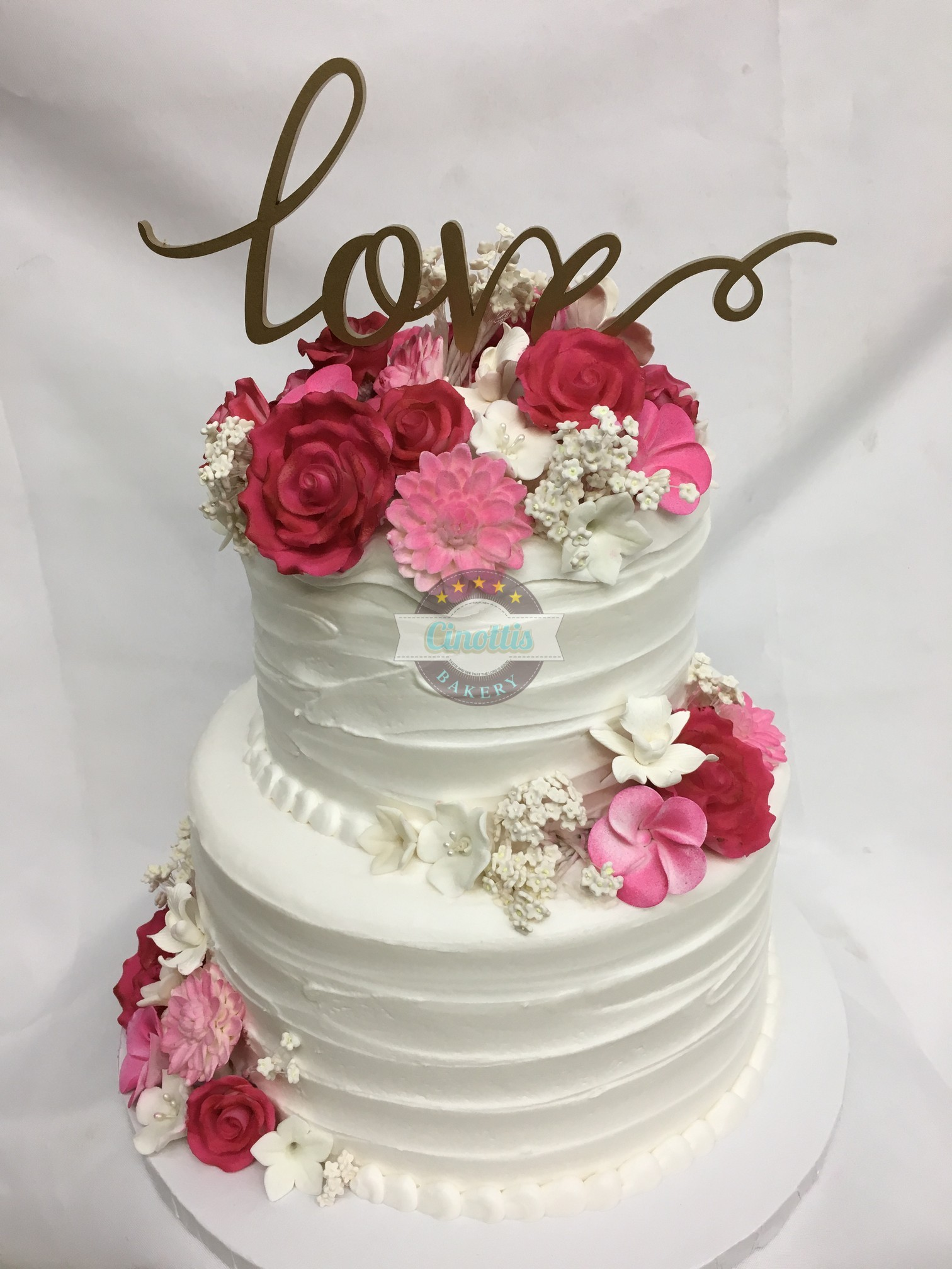 Semi-Textured Buttercream, Cake, Buttercream, Flower, Wedding, Gumpaste, Birthday, Shower, Party, Fondant, Jacksonville, Beach, Florida