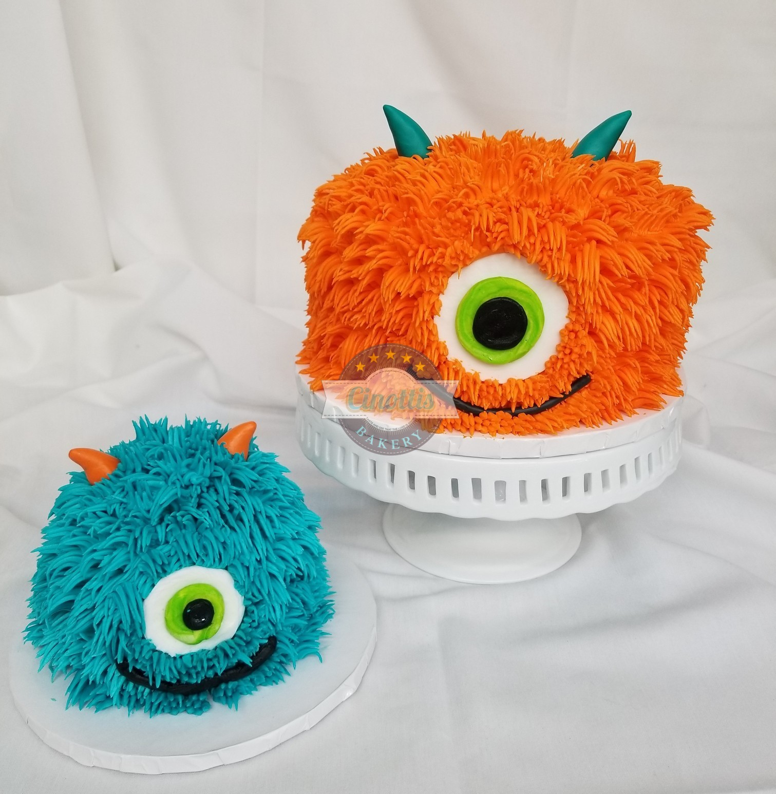 Happy Monster Celebration Cake from Cinottis Bakery