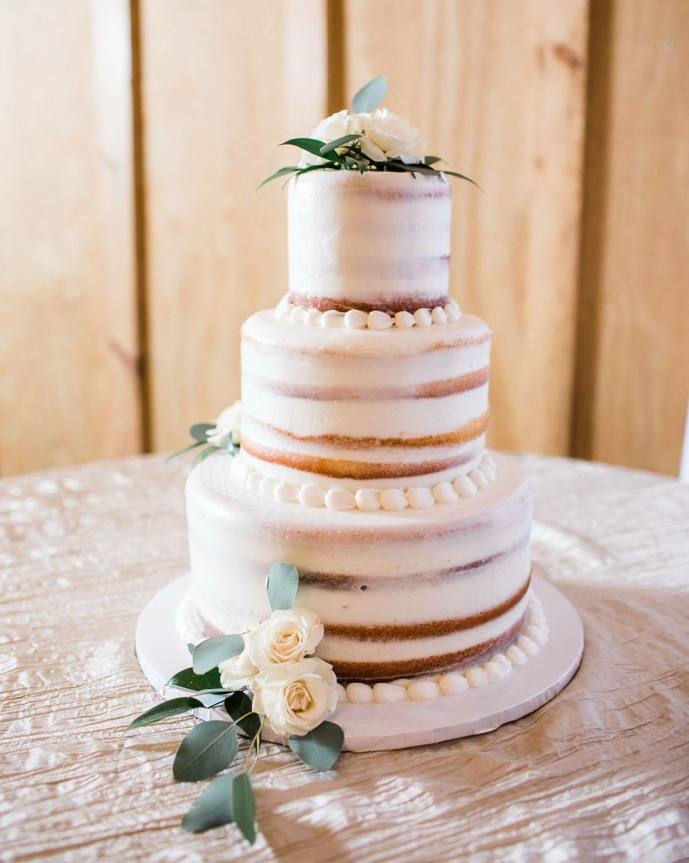 Half Naked Cake The Hottest Trend From Cinottis Bakery