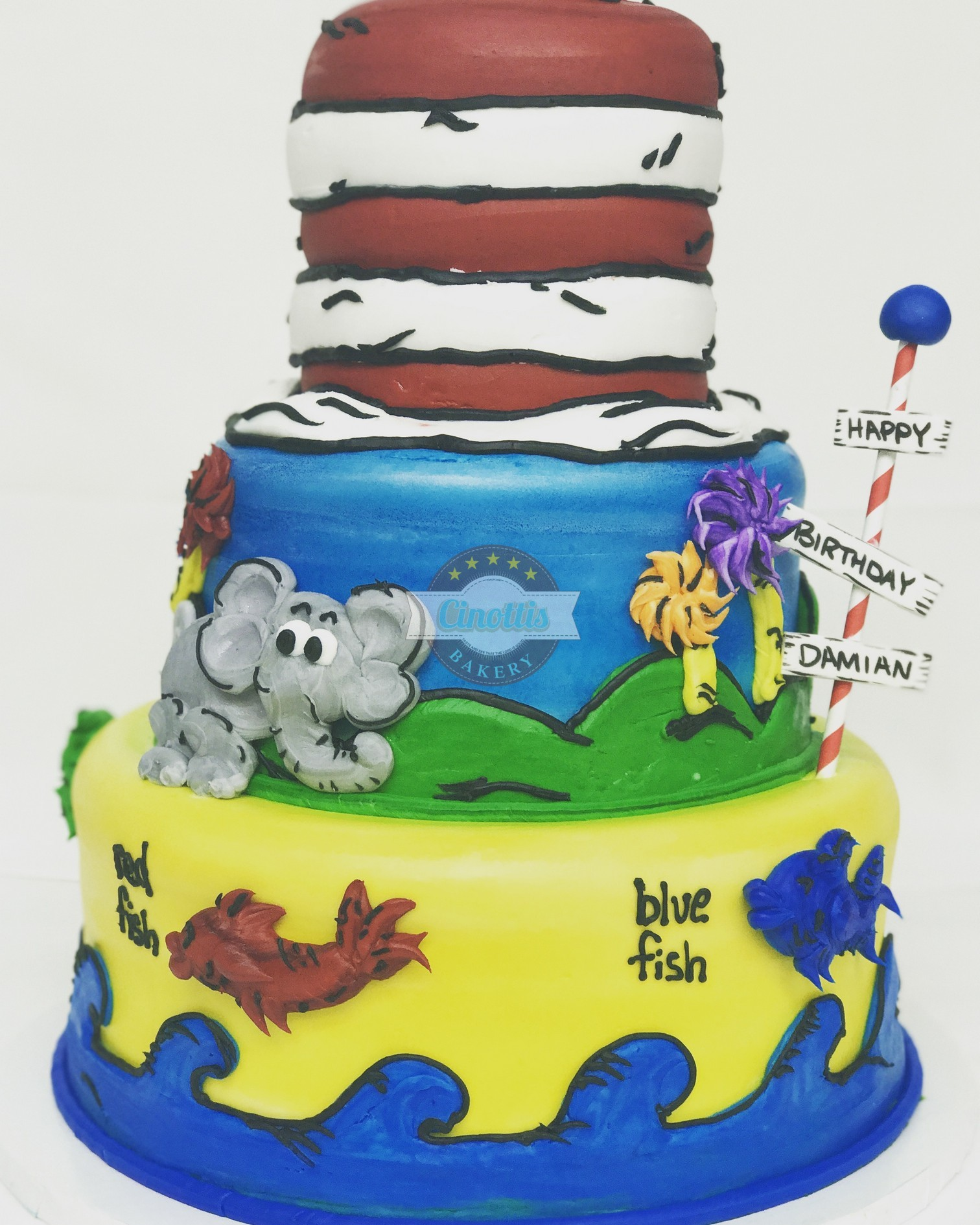 Dr., Seuss, Cat, Hat, Lorax, Horton, Fish, Blue, Cinottis, Jacksonville, Beach, Read, Library