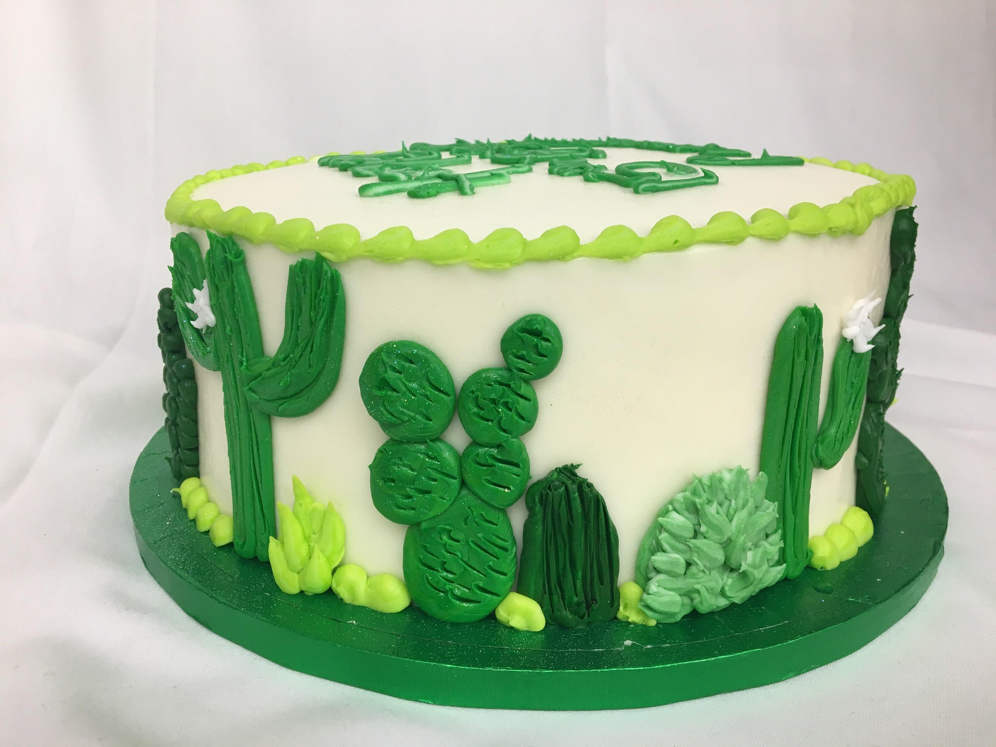 How To Make A Cactus Cake Topper