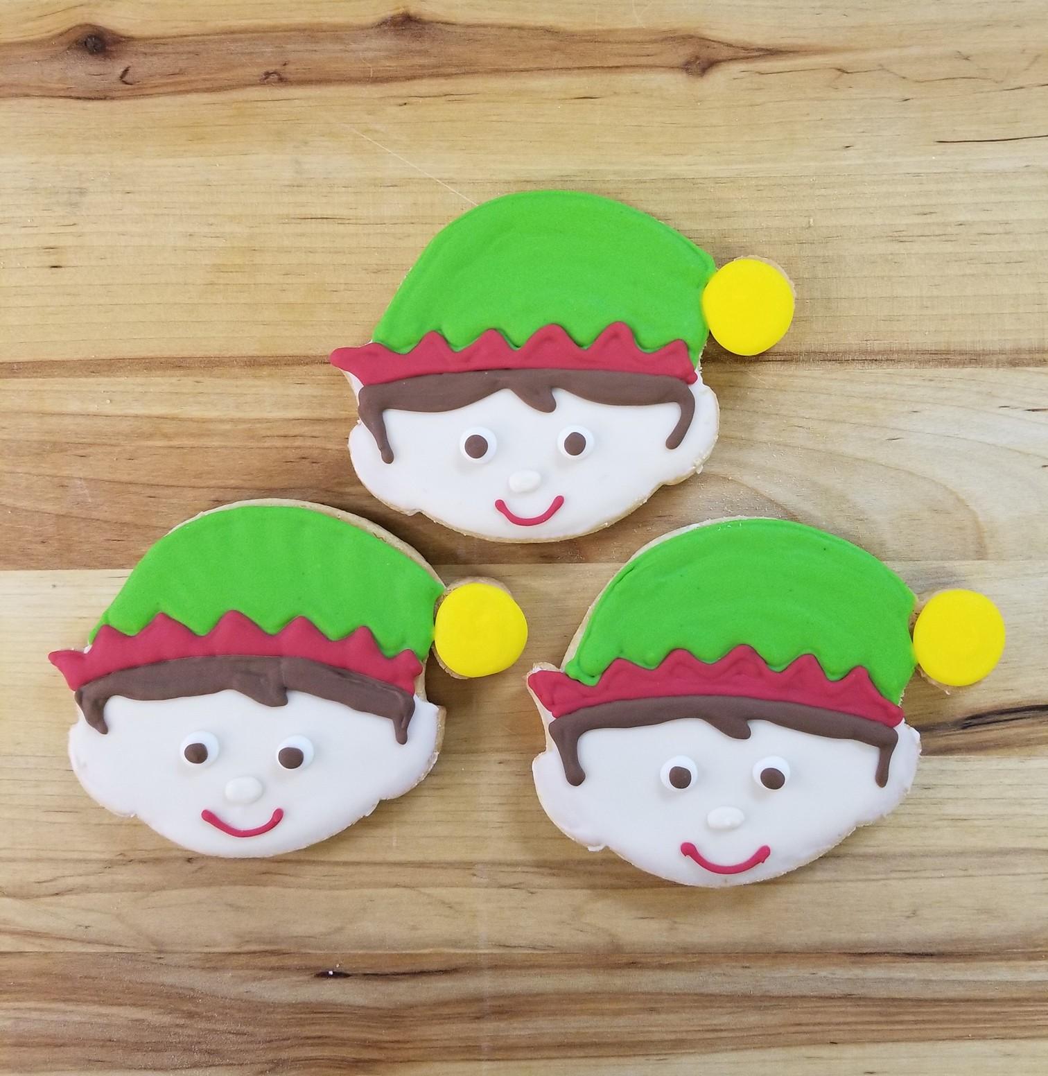 Elf, cookies, party, santa, buddy, christmas, school, helper, tree, trimming, jacksonville