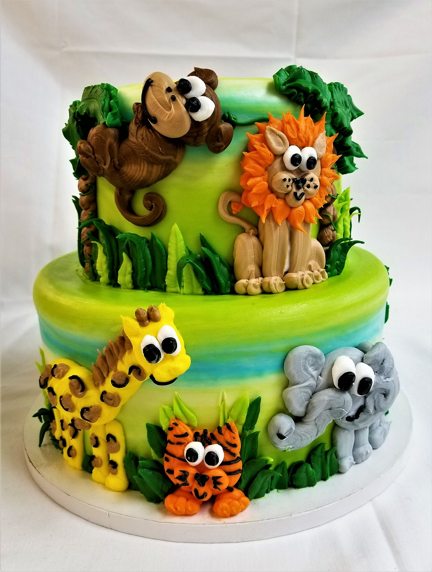safari animals, zoo, jungle, birthday, fun, kids, party, boys, girls, jacksonville, beach, bakery