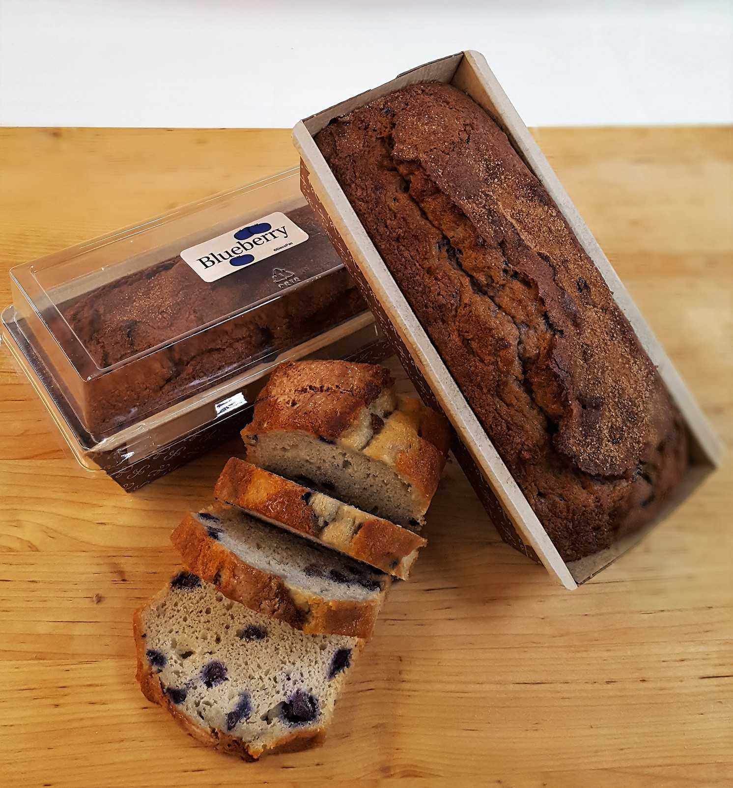 Blueberry Loaf, nutbread, quickbread, breakfast, bakery, jacksonville, beach, cinottis