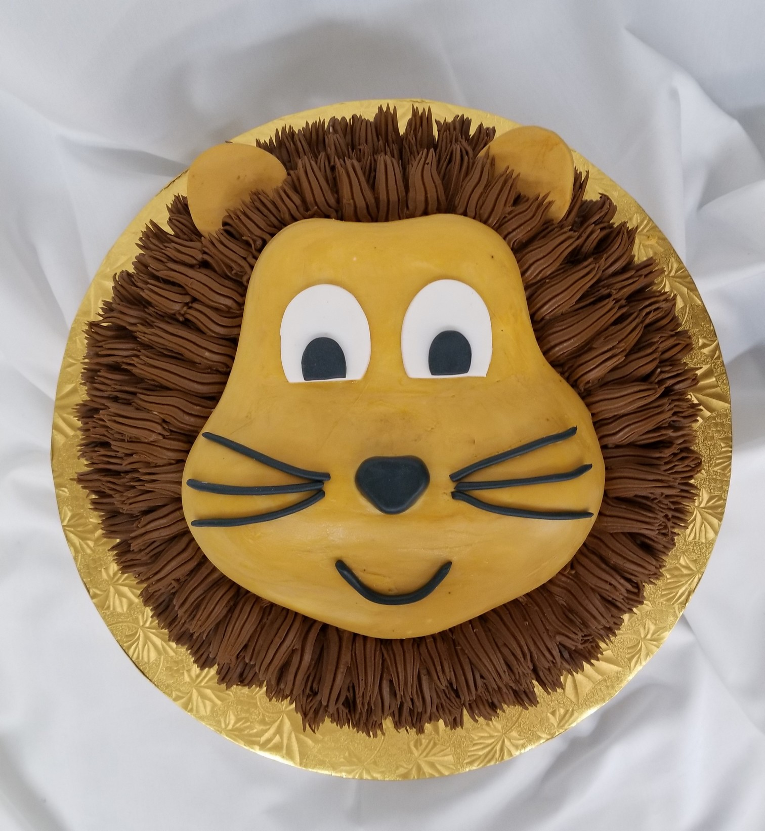 Lions Head celebration cake from Cinottis Bakery