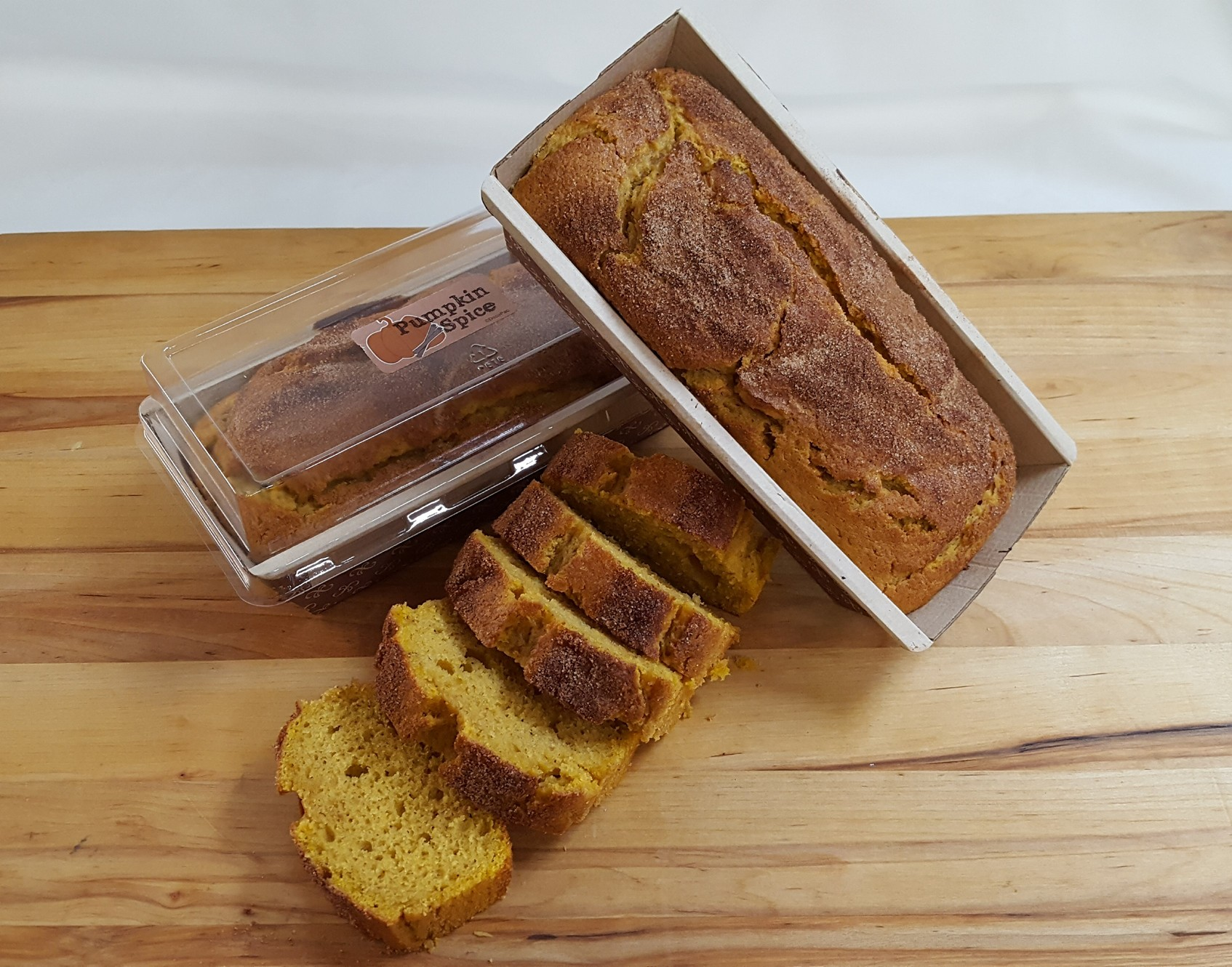 Pumpkin Loaf, Muffin, loaf, Breakfast, Bakery, Jacksonville, Beach, cinnamon, spice, homemade