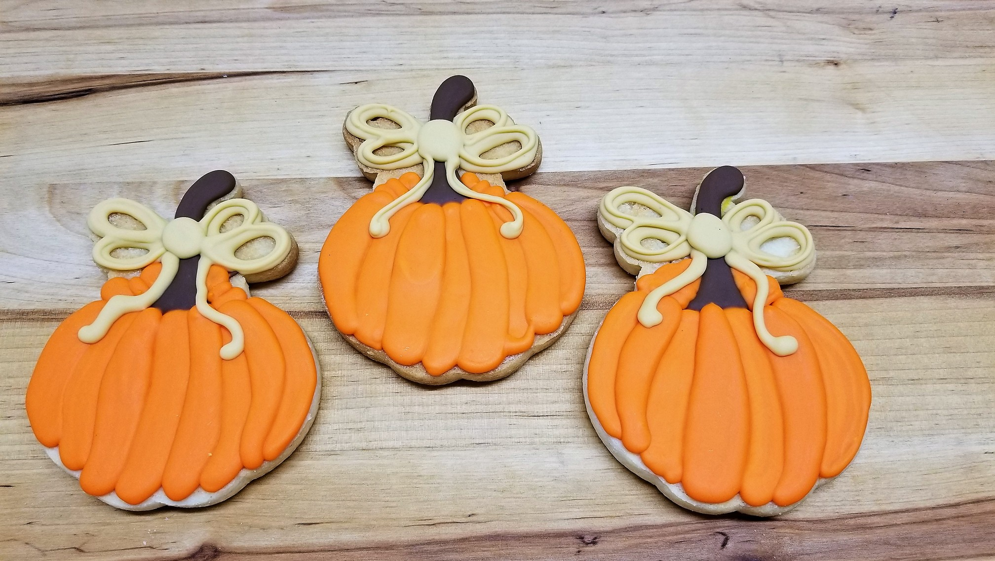 Bow Tie Pumpkin, cookies, fall, rustic, party, favor, place, setting, patch, cinottis, bakery, jacksonville, beach