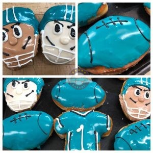Jaguar Donuts, #DTWD, Cinottis Bakery, Jacksonville, AFC, NFL