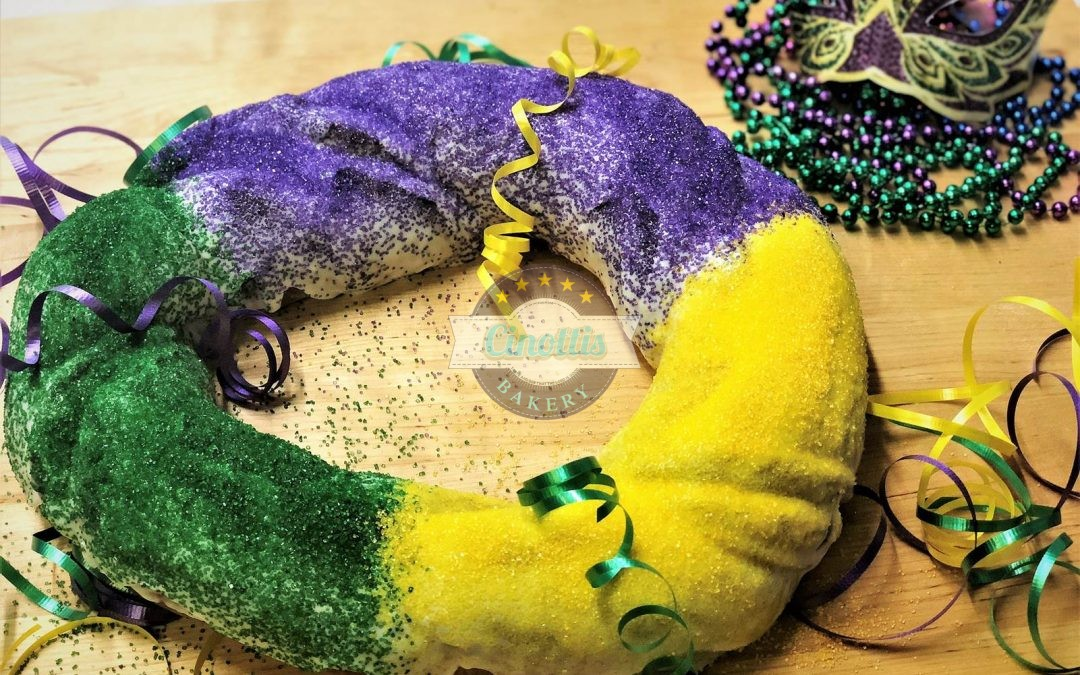 Let the Good Times Roll with a King Cake from Cinottis!