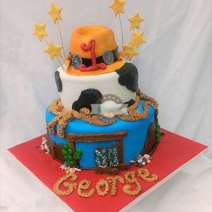 Cowboy Birthday, Cake, Cinotti's Bakery, Jacksonville Beach