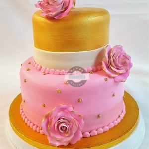 Pink Roses, cake, shower, roses, chic, dainty, adult, birthday, Cinottis, bakery