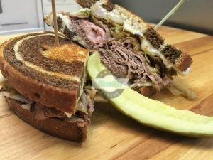 Reuben Sandwich, 5 of the BEST St. Patrick's Day treats, Cinotti's Bakery