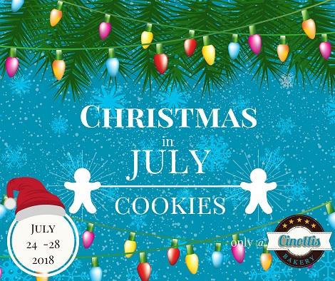 Christmas in July Cookies
