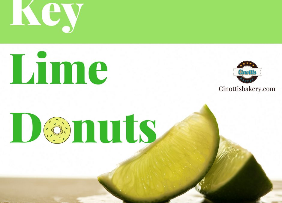 Key Lime Donuts Are Back!