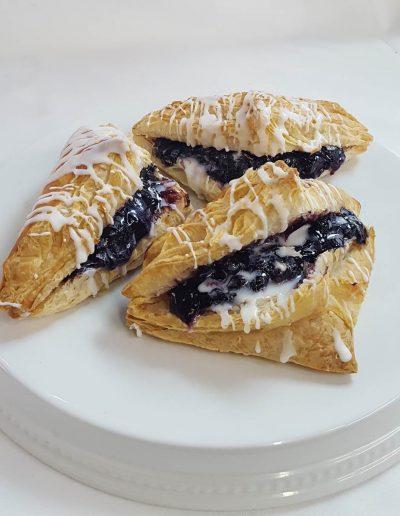 Turnovers, Blueberry, Cinotti's Bakery, Jacksonvil