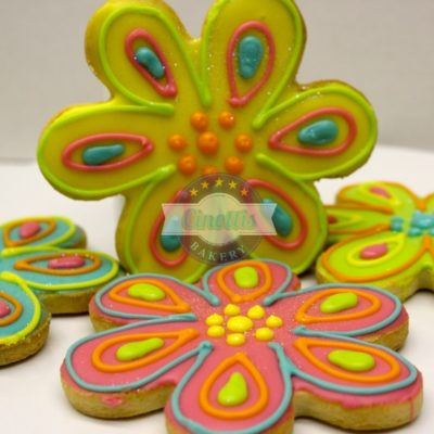 Flower Power, Cookies, Daisy, Summer, Spring, Mother's Day, Cinotti's Bakery