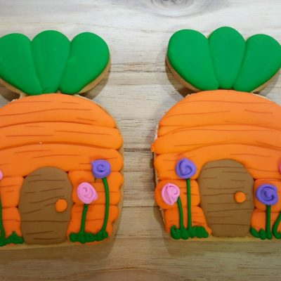 Bunny House, Easter, Cookie, Carrot, Flowers, Spring, Bunny, House, Woodland, Garden, Gnome, Cinotti, Jacksonville