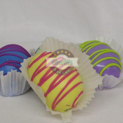 Dipped Eggs, Easter Cake, Vanilla Chocolate individual dessert, ganache, Basket, Spring, Bunny, Colorful, Pastel, Buttercream Icing, Cinottis Bakery, Jacksonville Beach, Carrots, Sheeps, Eggs, Grass25