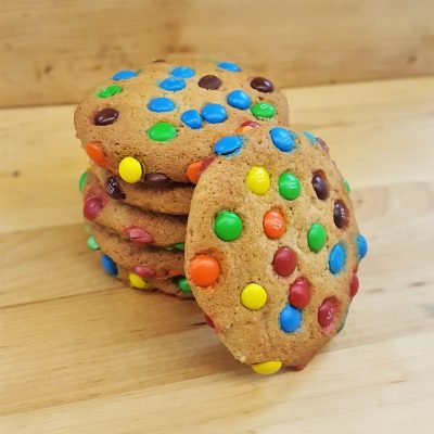 M & M Cookies, M&M, Cookies, Dessert, National M&M Day, Cinotti's Bakery