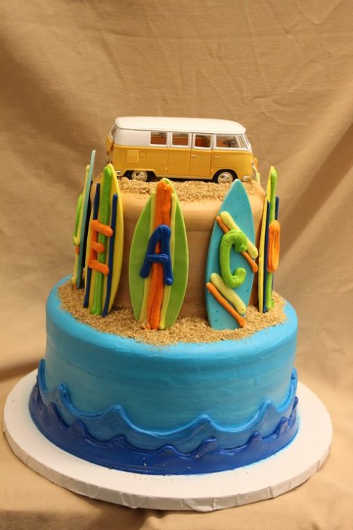 Beach Woody Bus