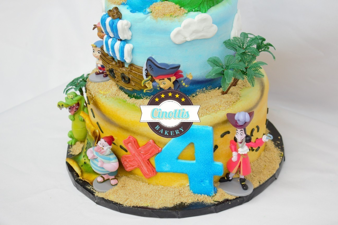 Jake And His Pirates A Celebration Cake From Cinottis Bakery