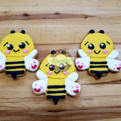 Bumble bee, cookie, Cinottis Bakery, Valentines Da