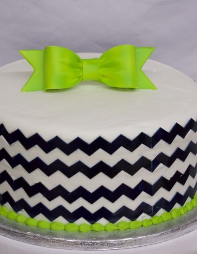 Chevron & Bow