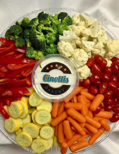 Fresh Vegetable, Tray, Jacksonville, Beach, Lunch, Delivery, Local, Cinottis