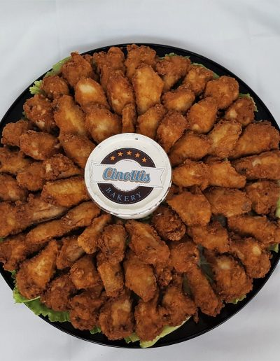 Chicken Drummies, Tailgating, Catering, Trays, Party, Cinotti's Bakery