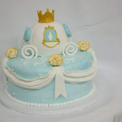 Cinderella's Carriage, Glass, slipper, carriage, pumpkin, roses, gold, blue, bibbity, boppity, boo, wicked, princess, cake, birthday, party, Cinotti
