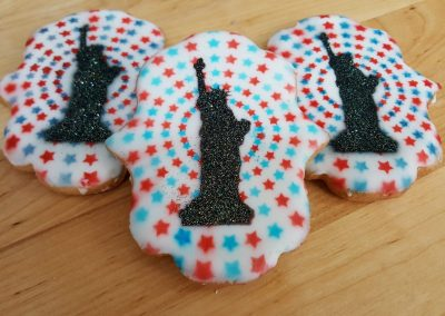 Fourth of July, Fireworks, America, Statue, Liberty, Celebrate, Four, Party, Cake, USA, Cookie, Cinottis, Bakery, Jacksonville, Beach