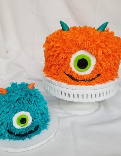 Happy Monster, Cake, Birthday, First, Baby, Party, Shower, Jacksonville, Beach, Cinotti