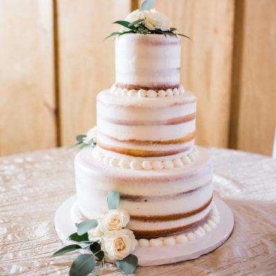 Half Naked Cake, Wedding, Cake, Jacksonville, Beach, Destination, Fresh, Rustic, Natural, Party, Birthday