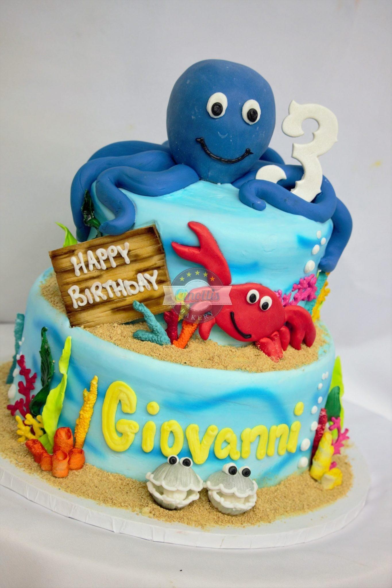 Seaweed Cake