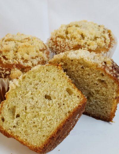 Banana nut muffin, breakfast, pastry, jacksonville, beach, bakery, traditional