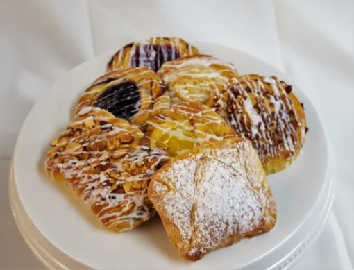 Danish, traditional, fruit, nuts, coffee, cake, cheese, pastry, breakfast, jacksonville, beach, bakery