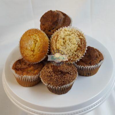 Muffins, blueberry, banana, carrot, bran, morning, breakfast, bakery, jacksonville, beach,
